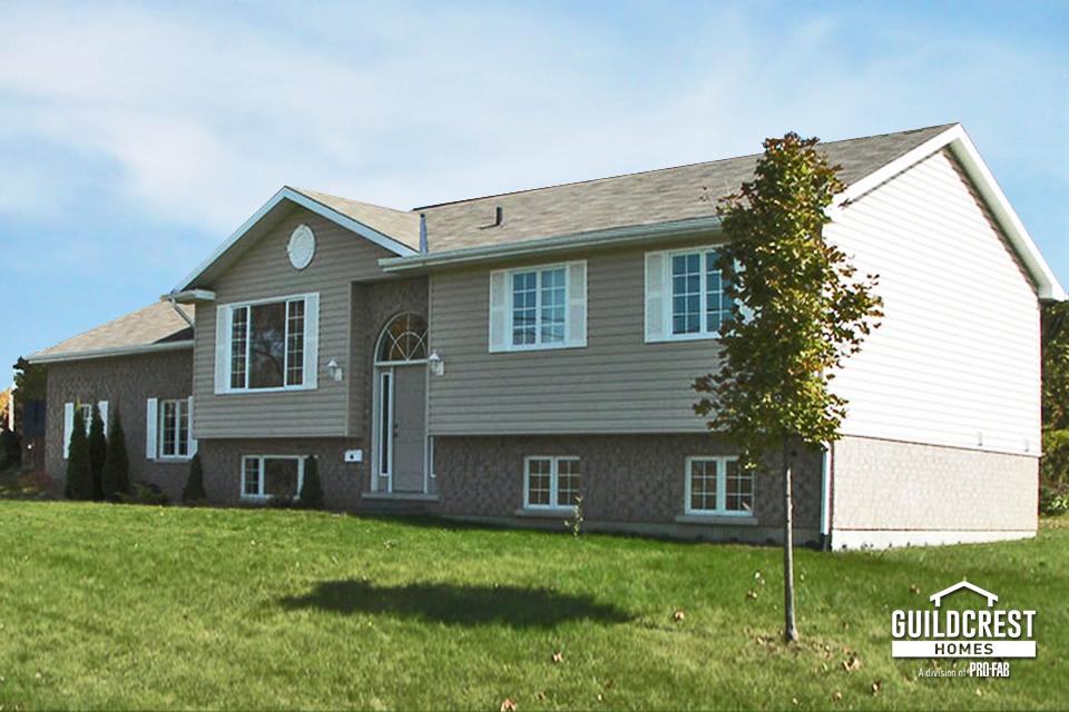Exterior - Split Level   HR Quality Homes