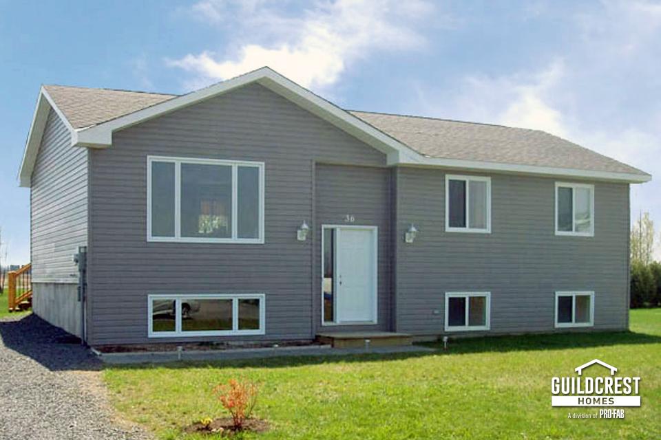 Exterior split level hr quality homes - Quality home exteriors ...